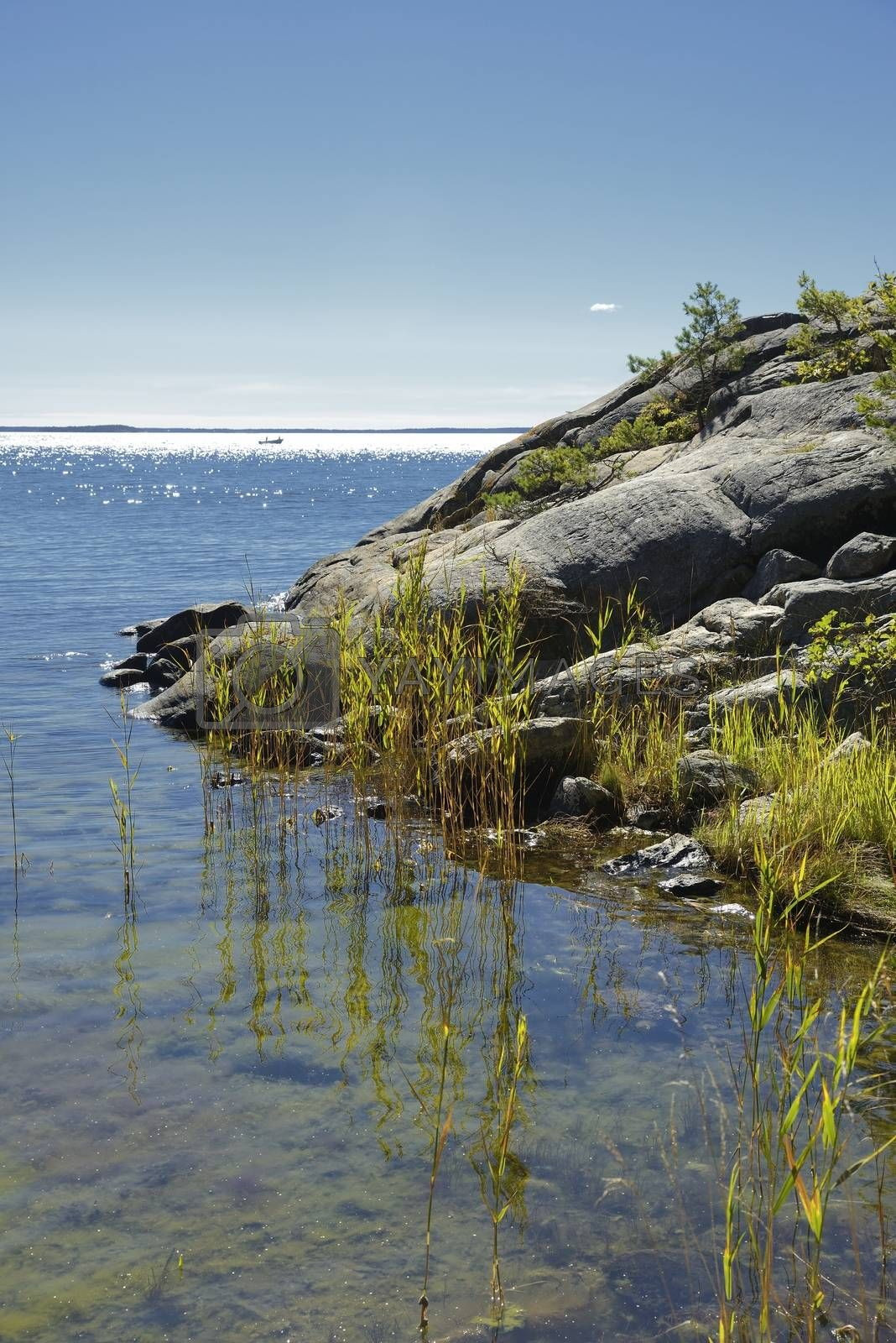 Seascape, Stockholm archipelago.