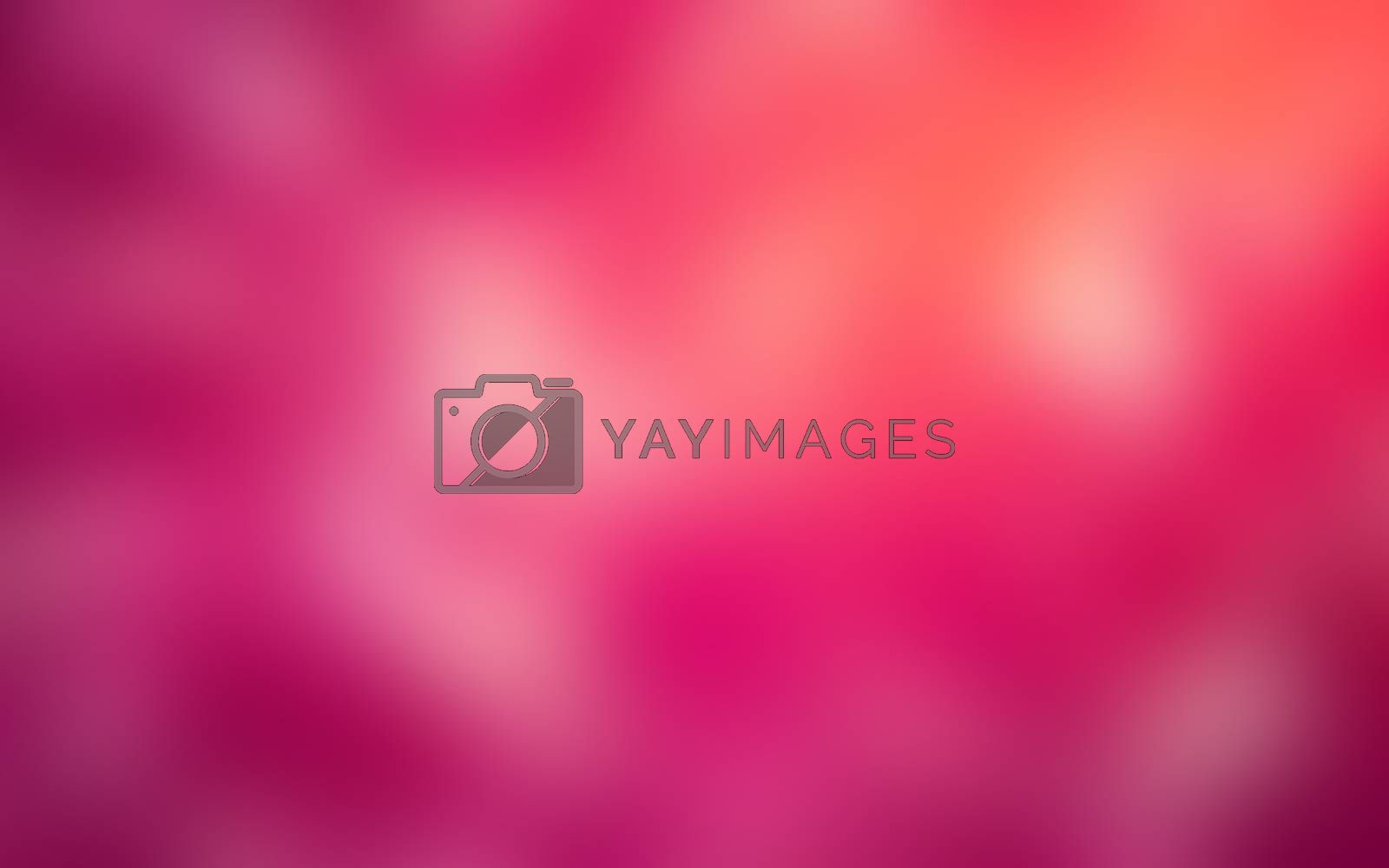 Colorful abstract defocused blur background.  by teerawit