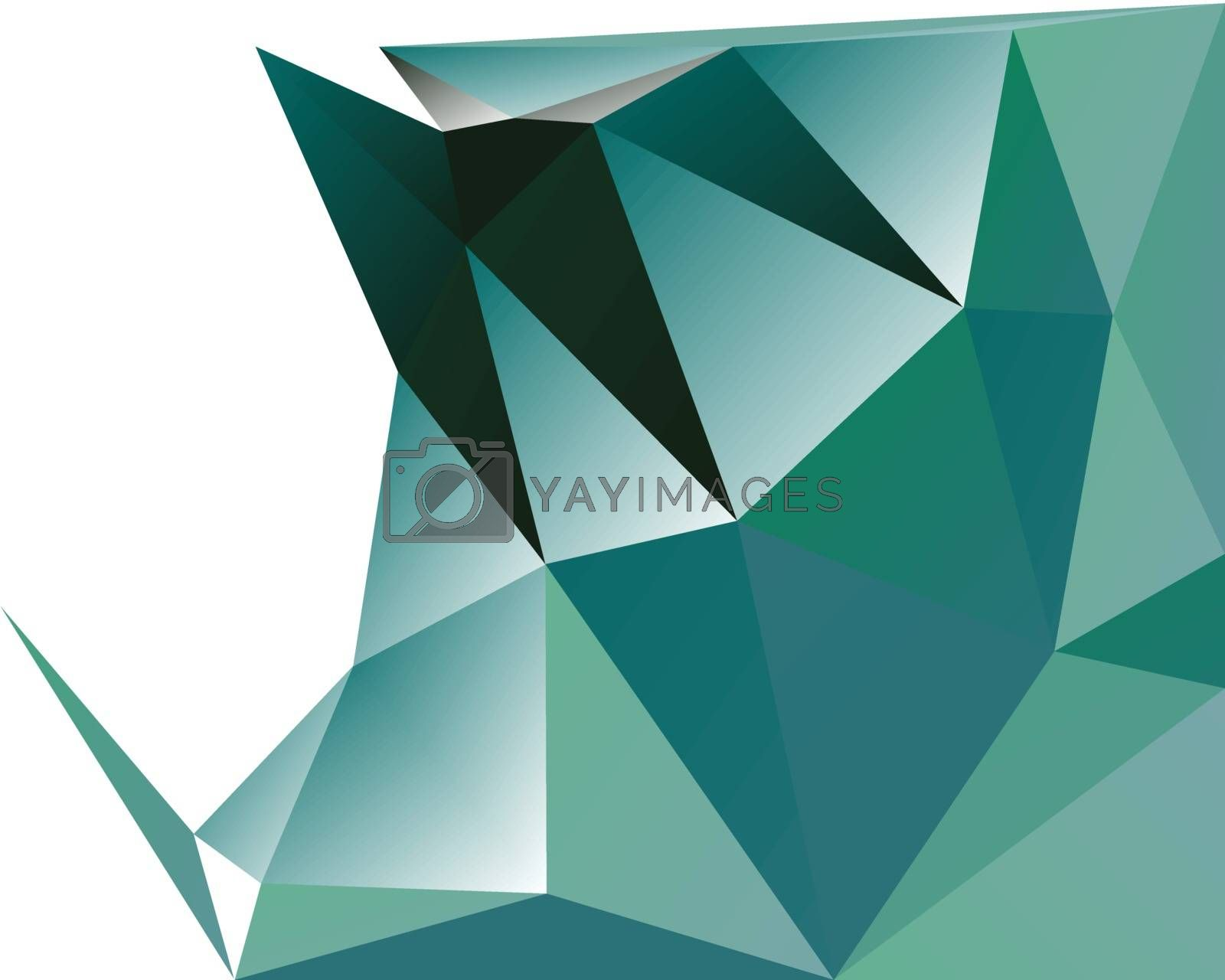 Polygonal Abstract Background by sdCrea