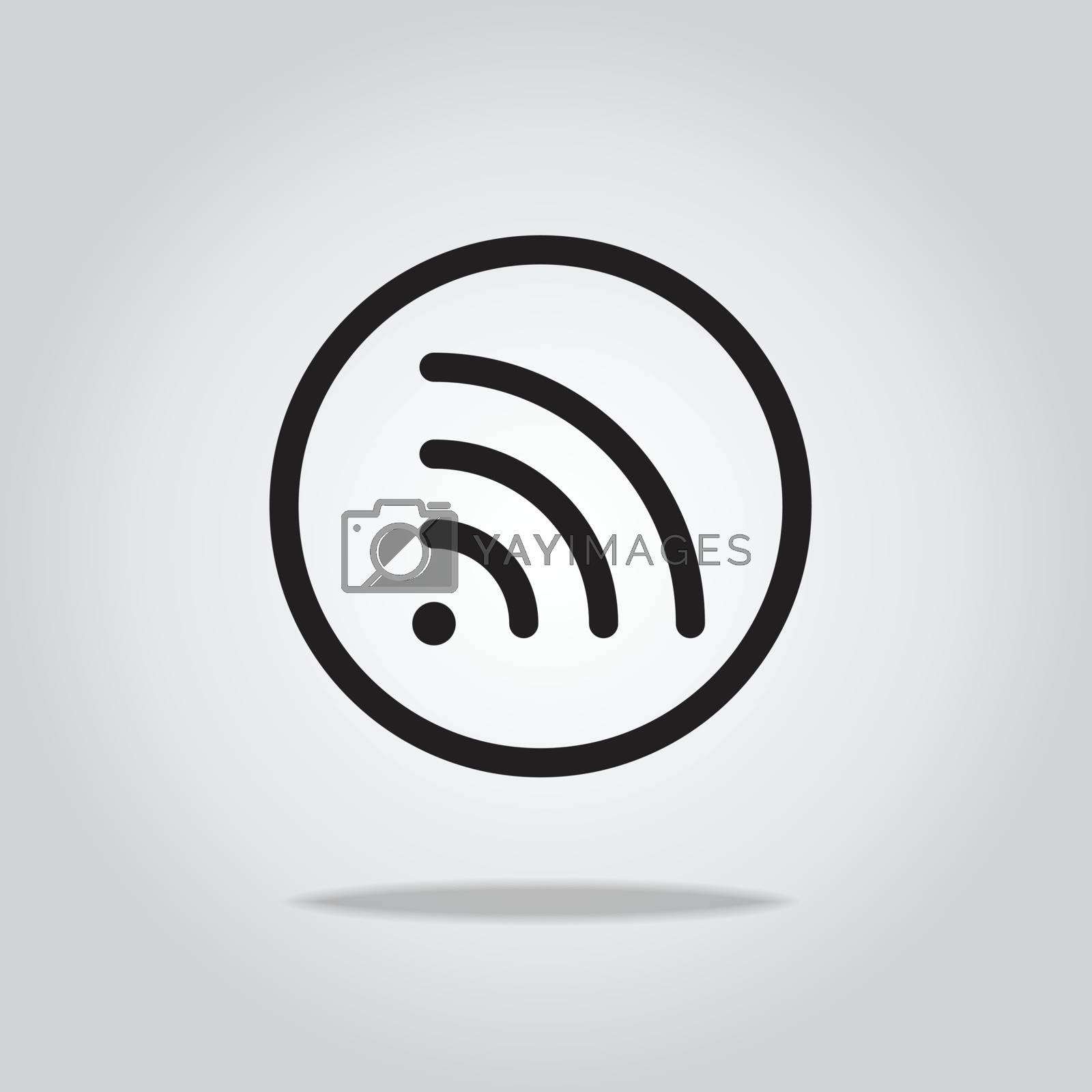 wifi icon,vector illustration