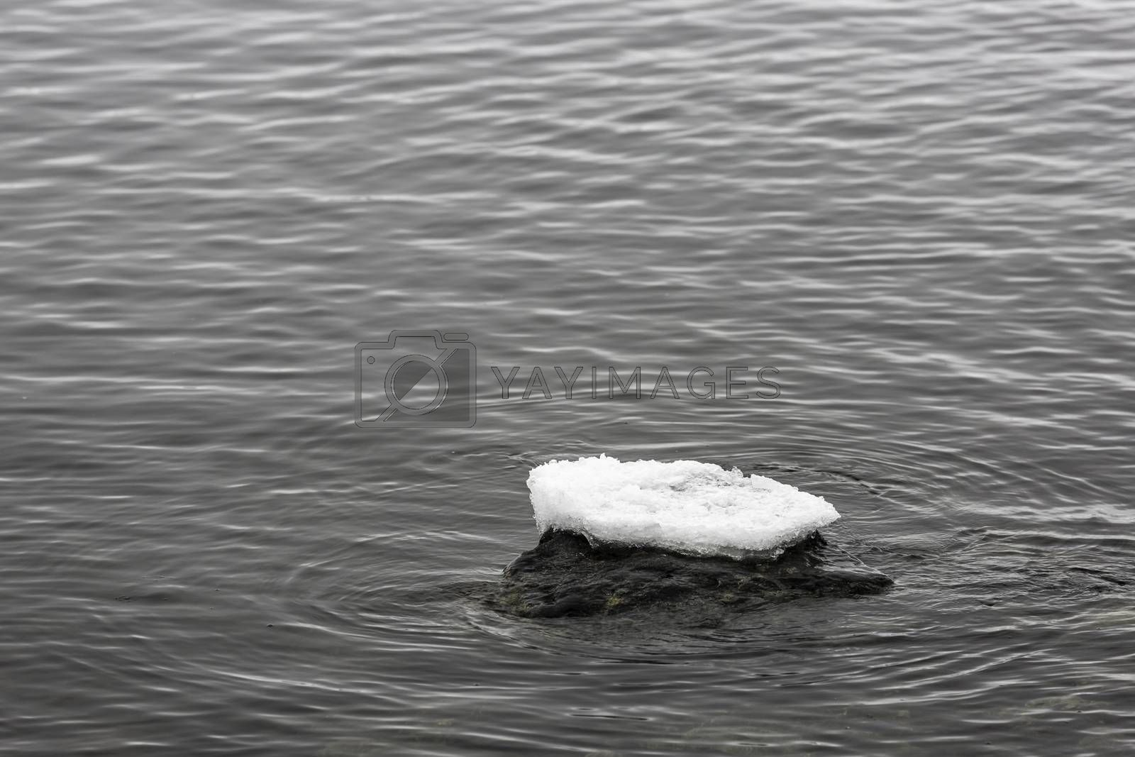 Ice on Top of Rock by Emmoth