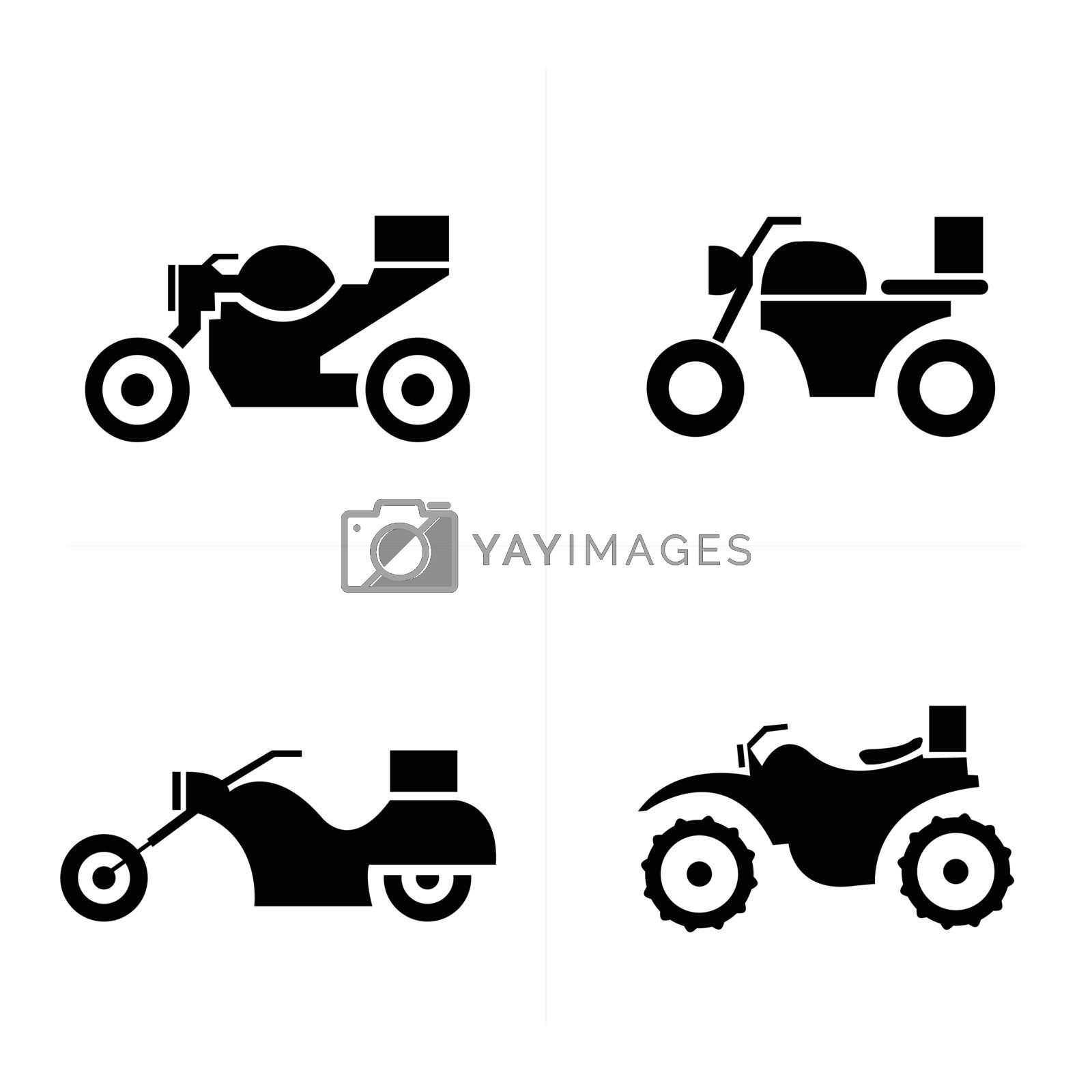 Transport motorcycle  Icons Icons