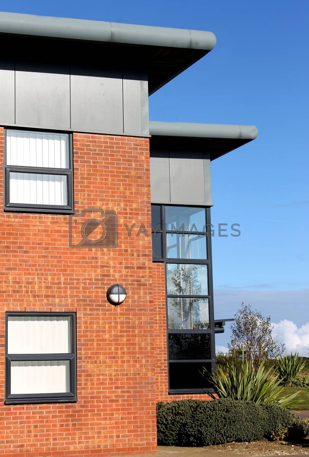 Royalty free image of Empty modern office building by speedfighter