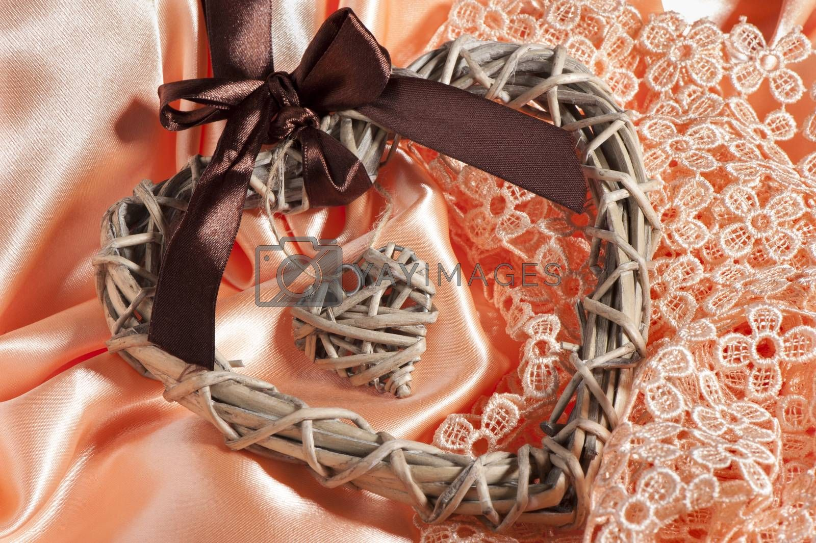 a elegant heart  gift for mother and women day