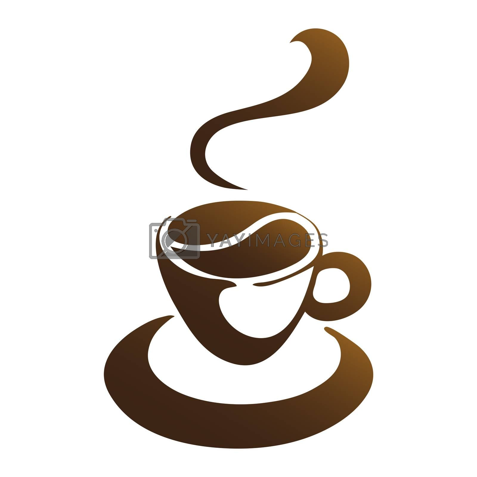 Royalty free image of hot coffee cup vector by mizar_21984