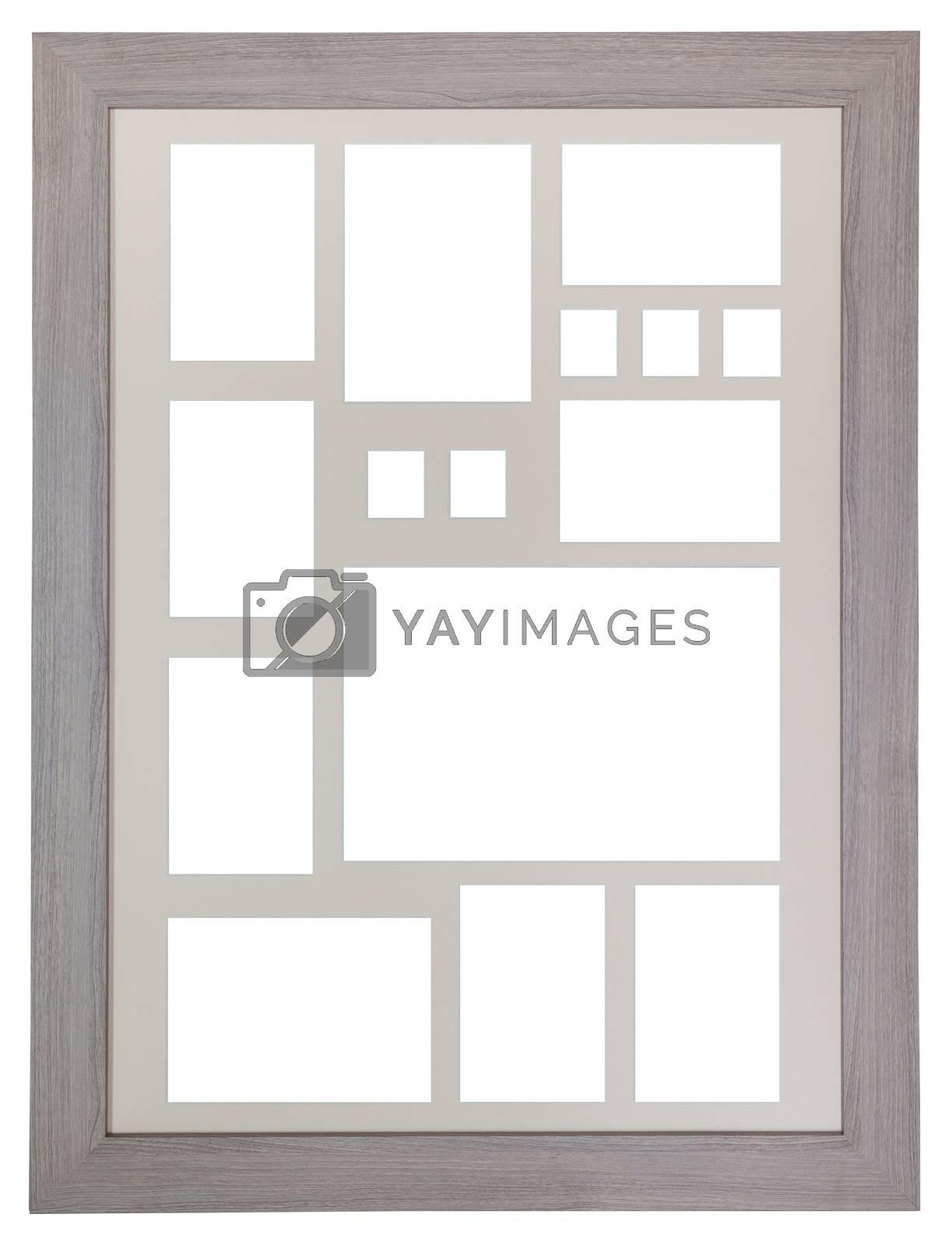 Vintage Photo frames isolated on white background