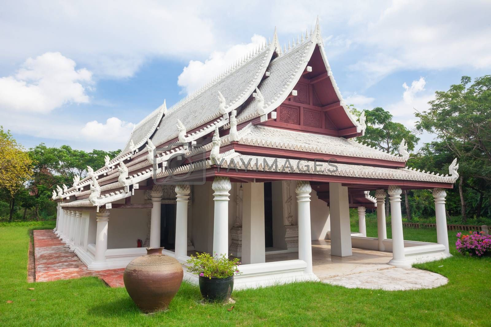 Ancient city,Temple of Thailand on day