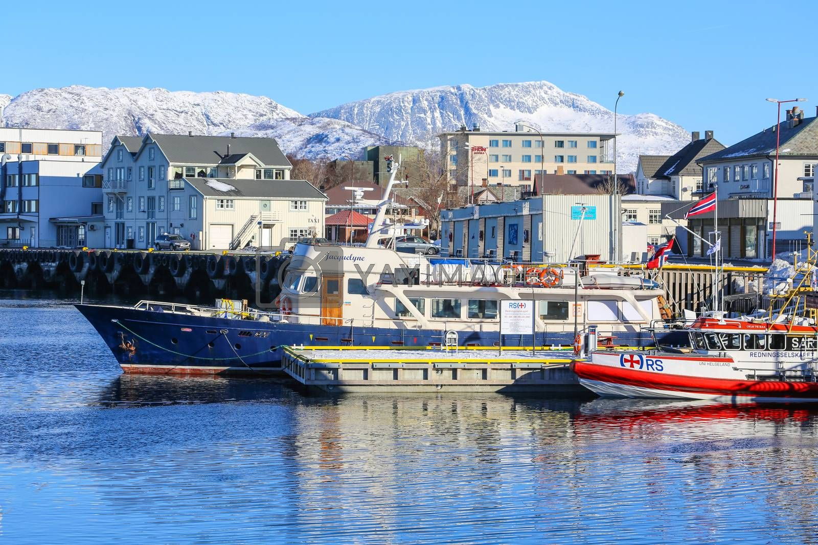 M / V Jacquelyne have the last 3 years been used for whale watching and charter for groups from 15 to 50 guests in Northern Norway, based  M/V Jacquelyne
