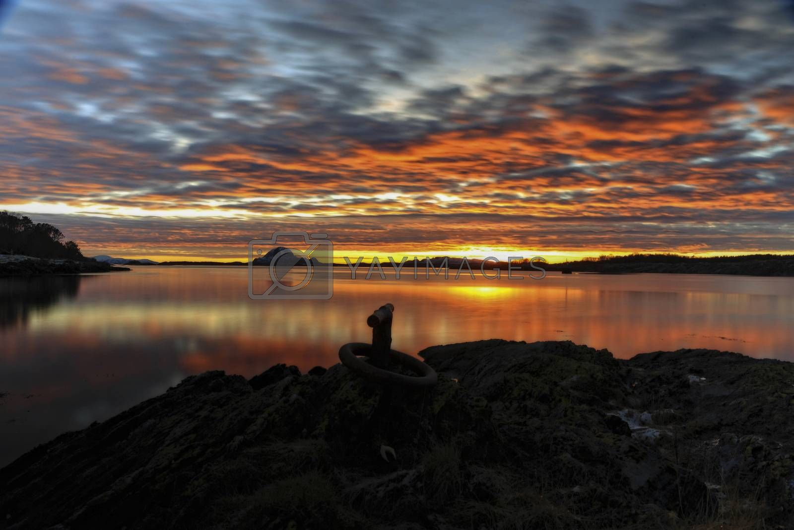 Royalty free image of Solnedgang by post@bronn.no