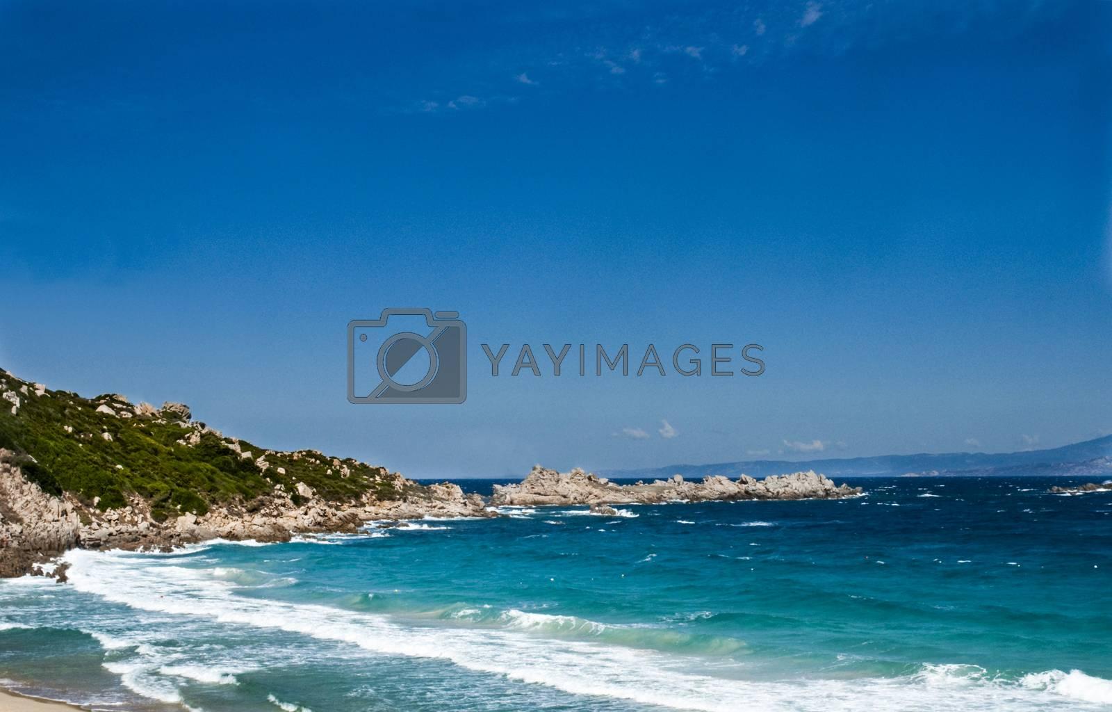 a crystalline sea Saint Teresa di Gallura