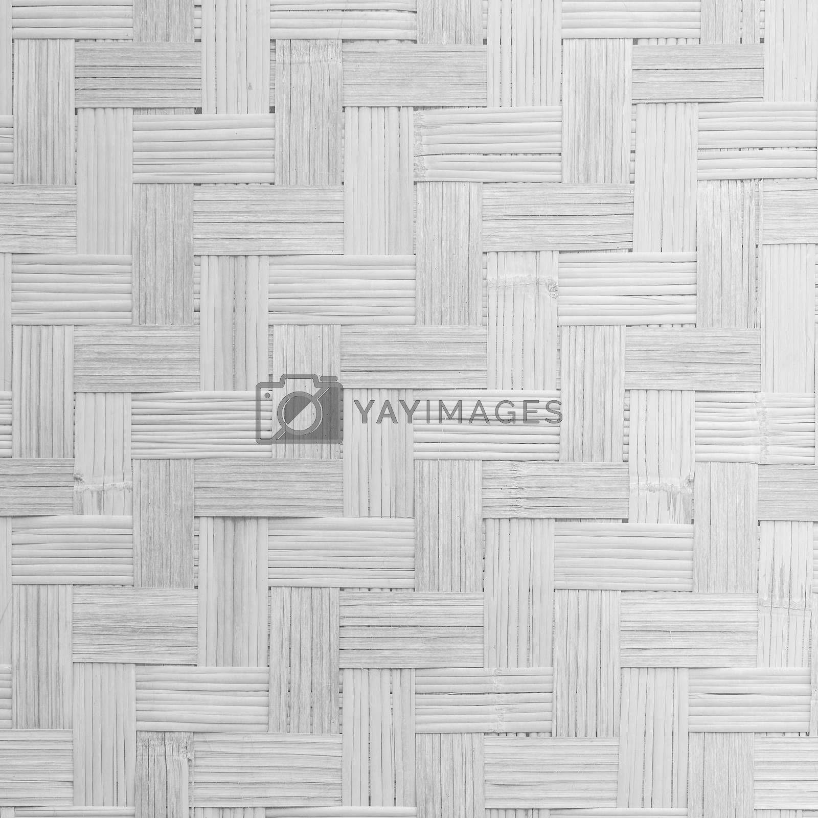 White background of bamboo texture