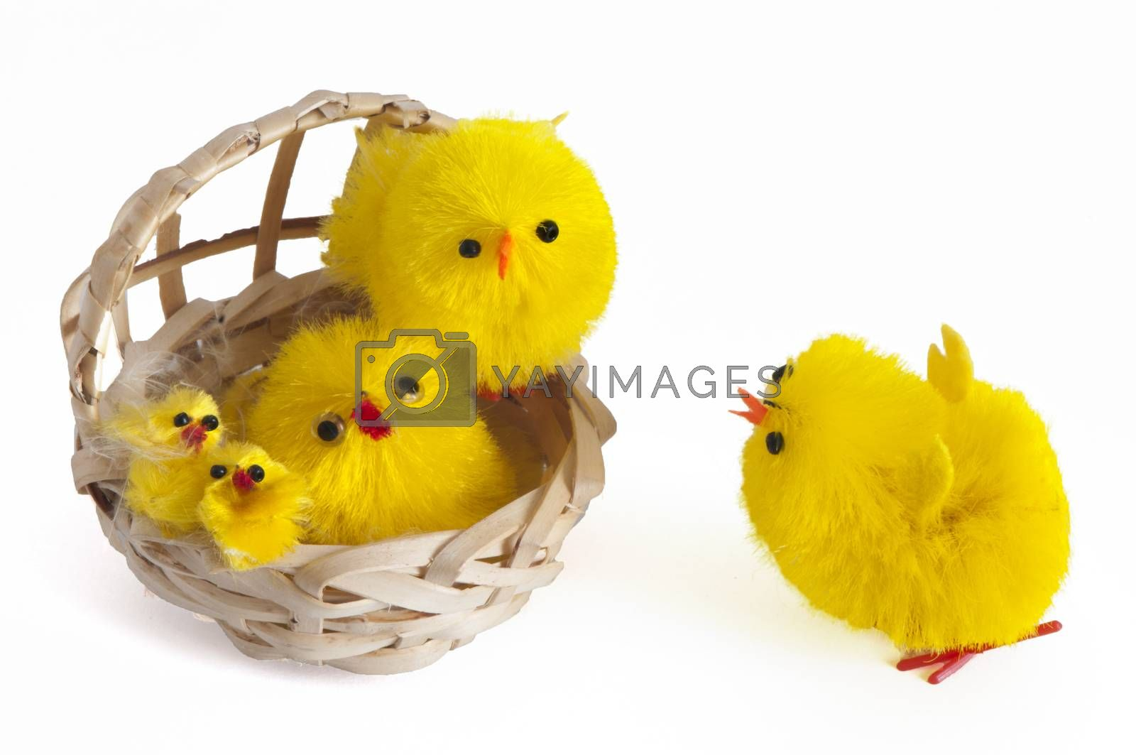 Royalty free image of a Easter decorations by carla720