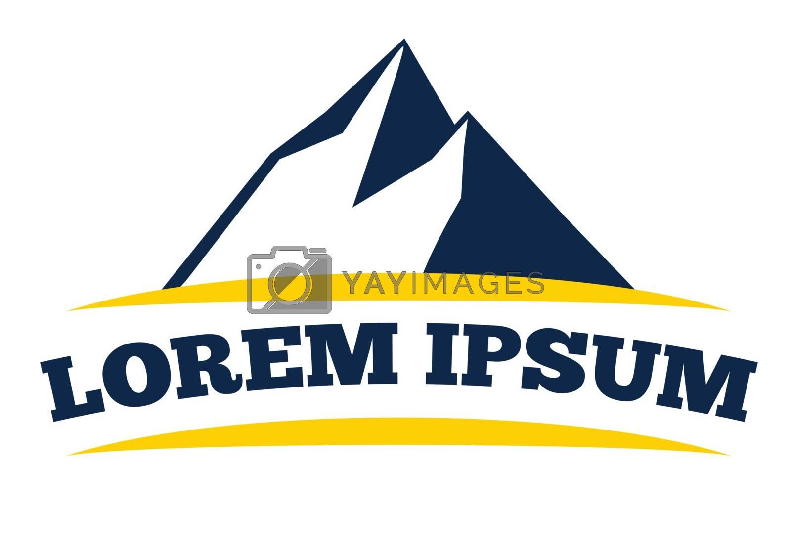 Mountain Logo Design. AI 8 Supported.