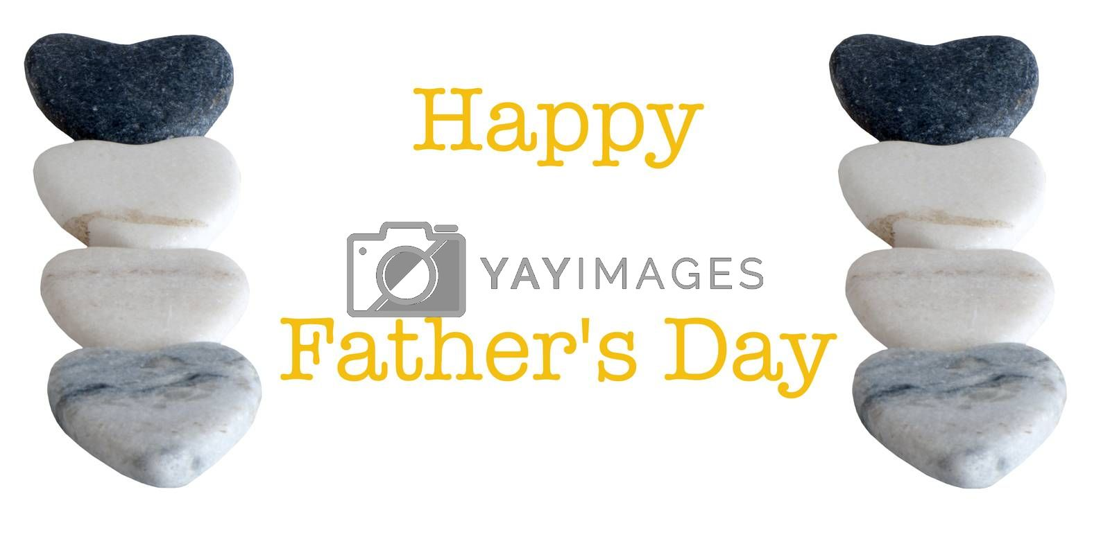 Royalty free image of card for a  Father's Day by carla720