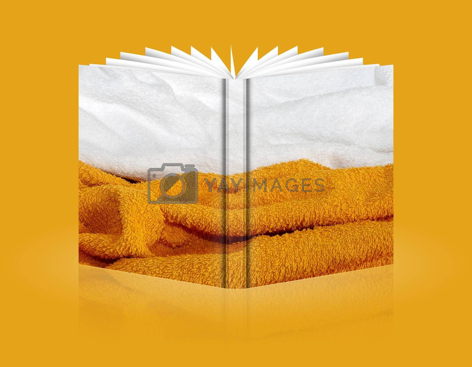 Royalty free image of book of background sponge by carla720