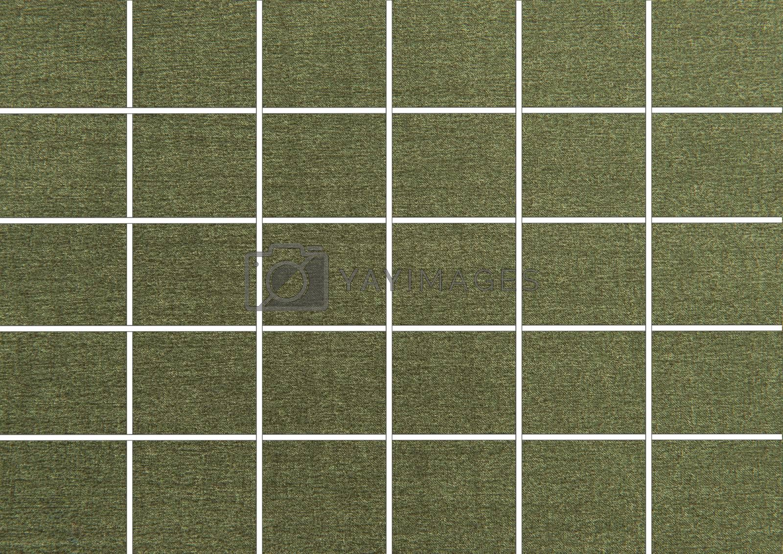 Green Tiles. Seamless Tileable Texture.