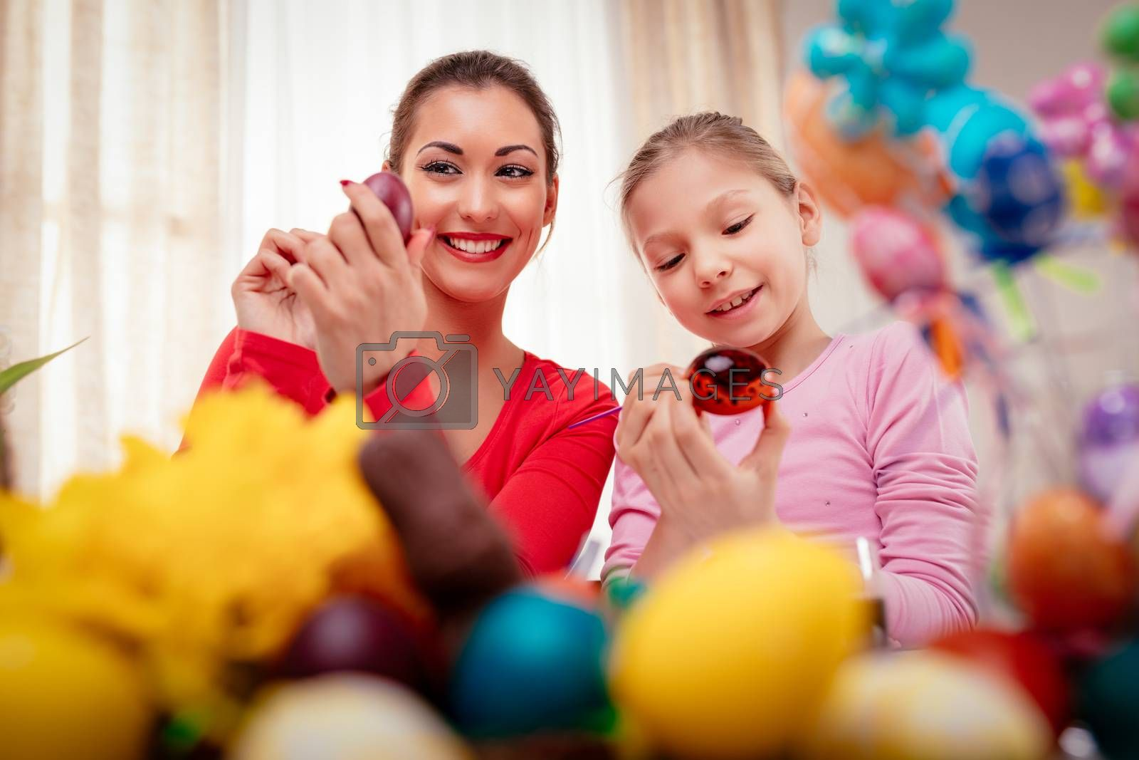 Painting Easter Eggs by MilanMarkovic78