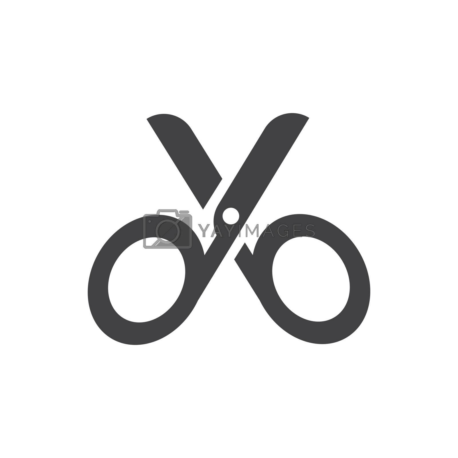 cut symbol icon vector