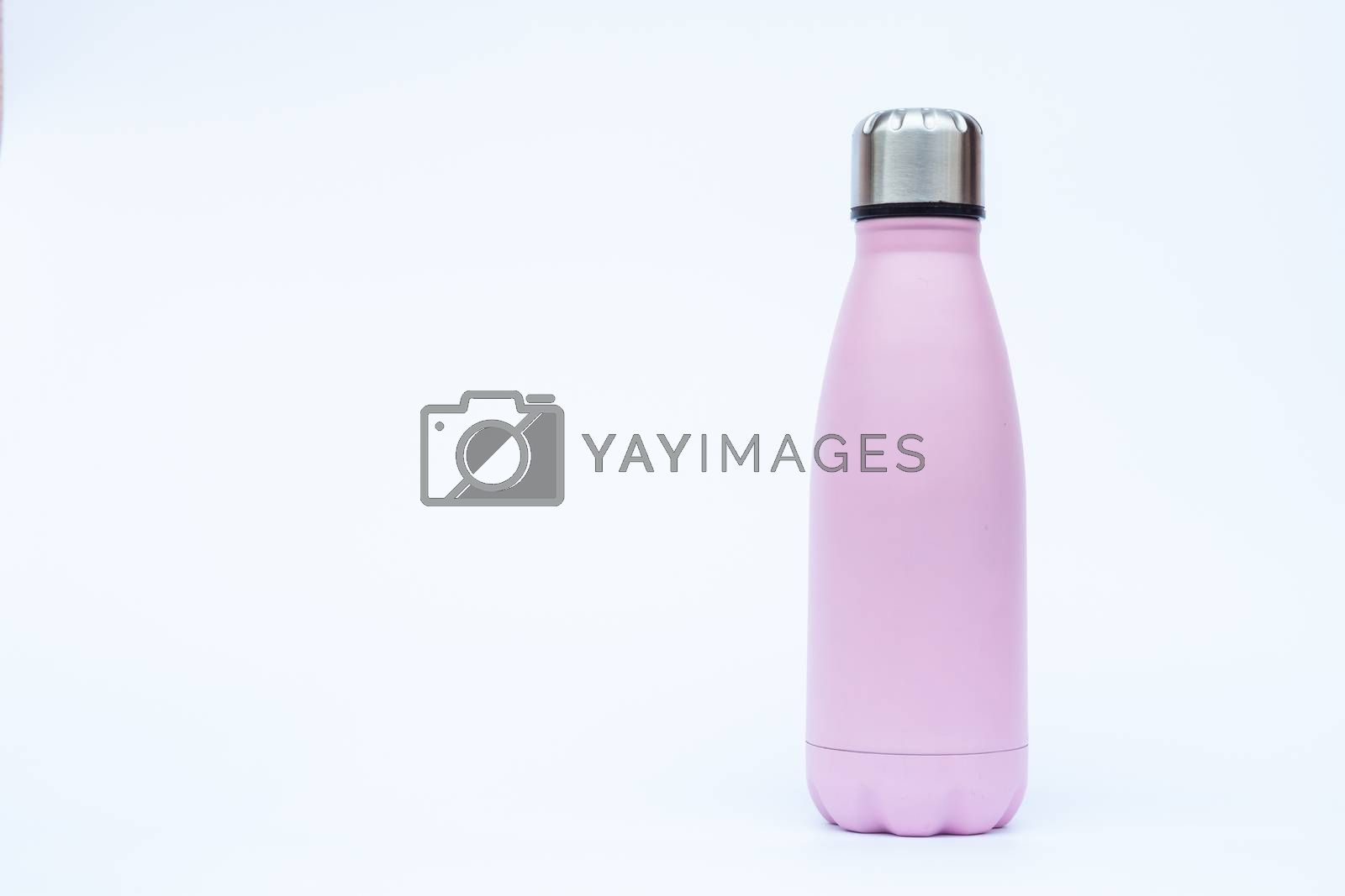 Warm bottle isolated on white background by punsayaporn