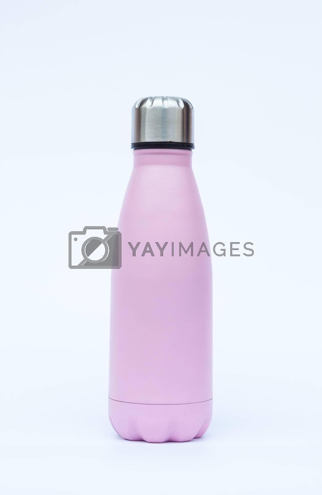 Warm bottle isolated on white background by punsayaporn