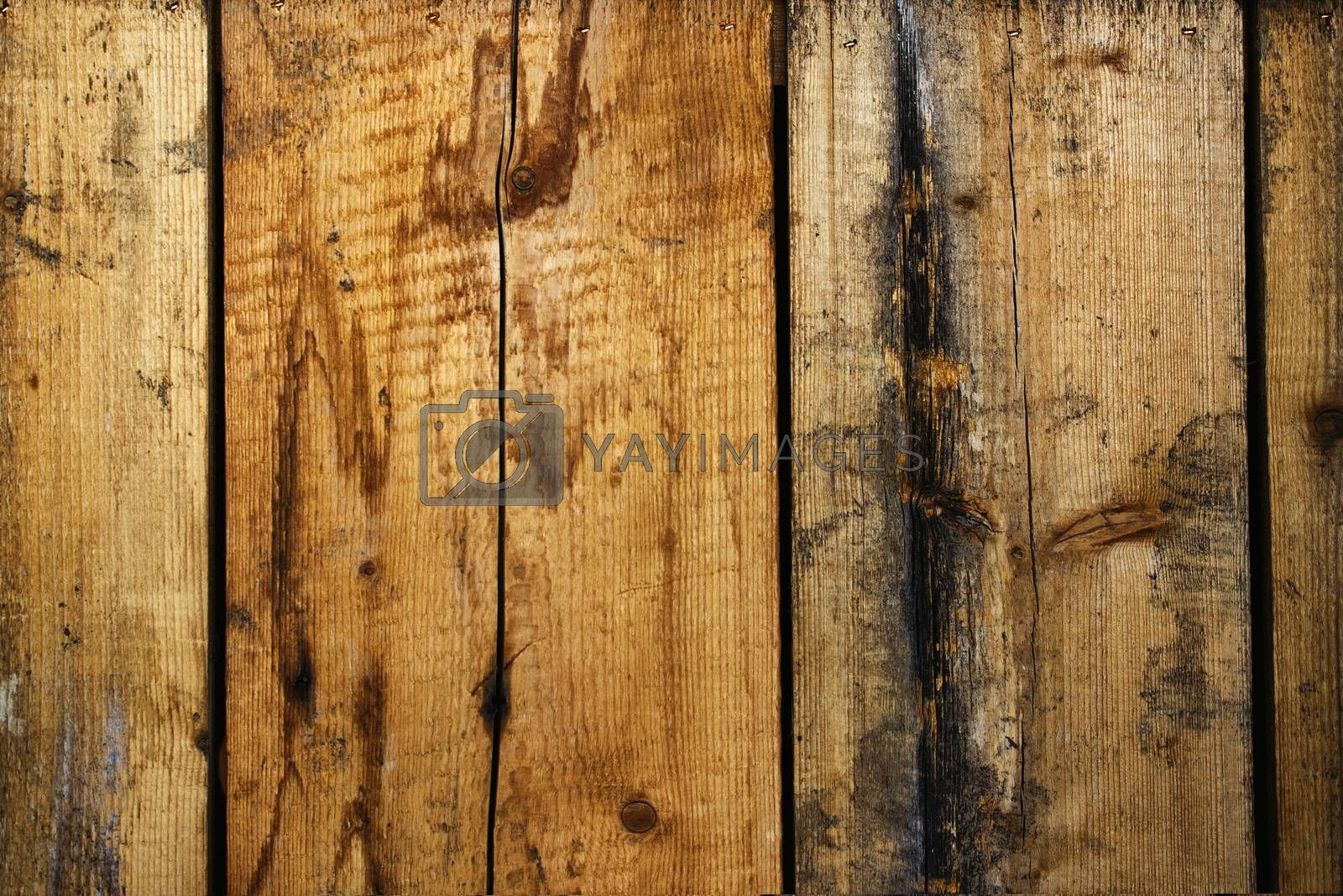 Rough wooden planks texture, old used weathered boards