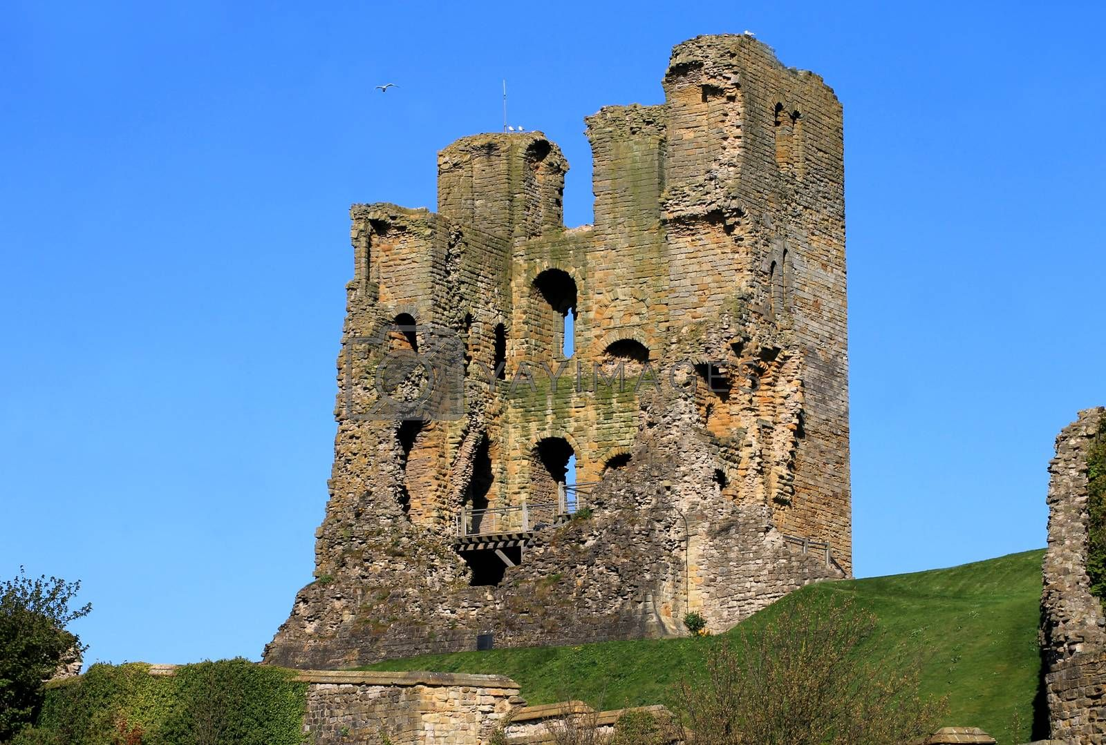 Royalty free image of Ruins of Scarborough Castle by speedfighter