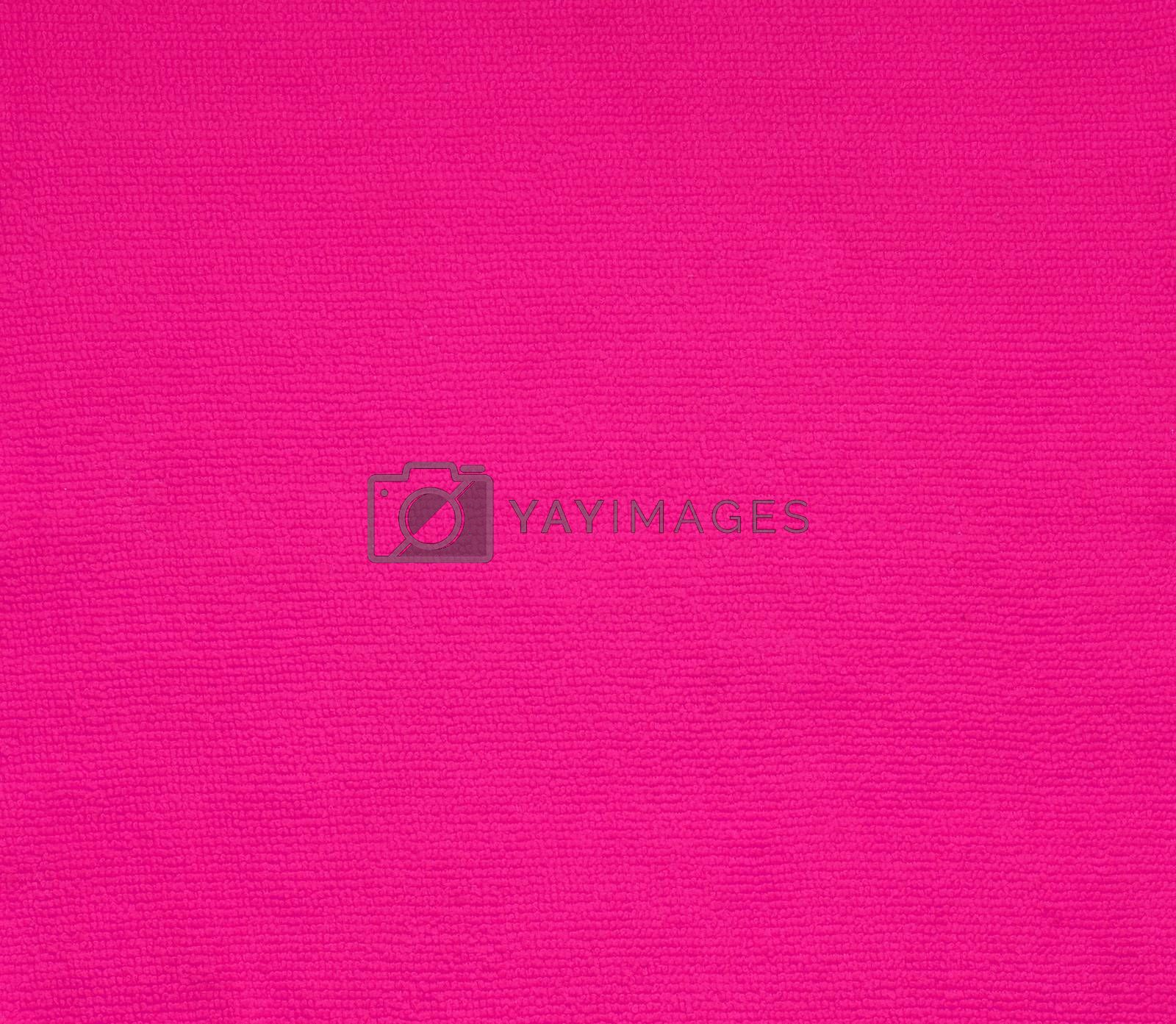 surface pink fabric texture for background