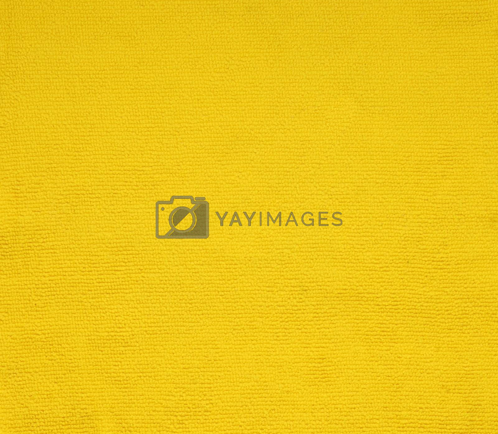 surface yellow fabric texture for background