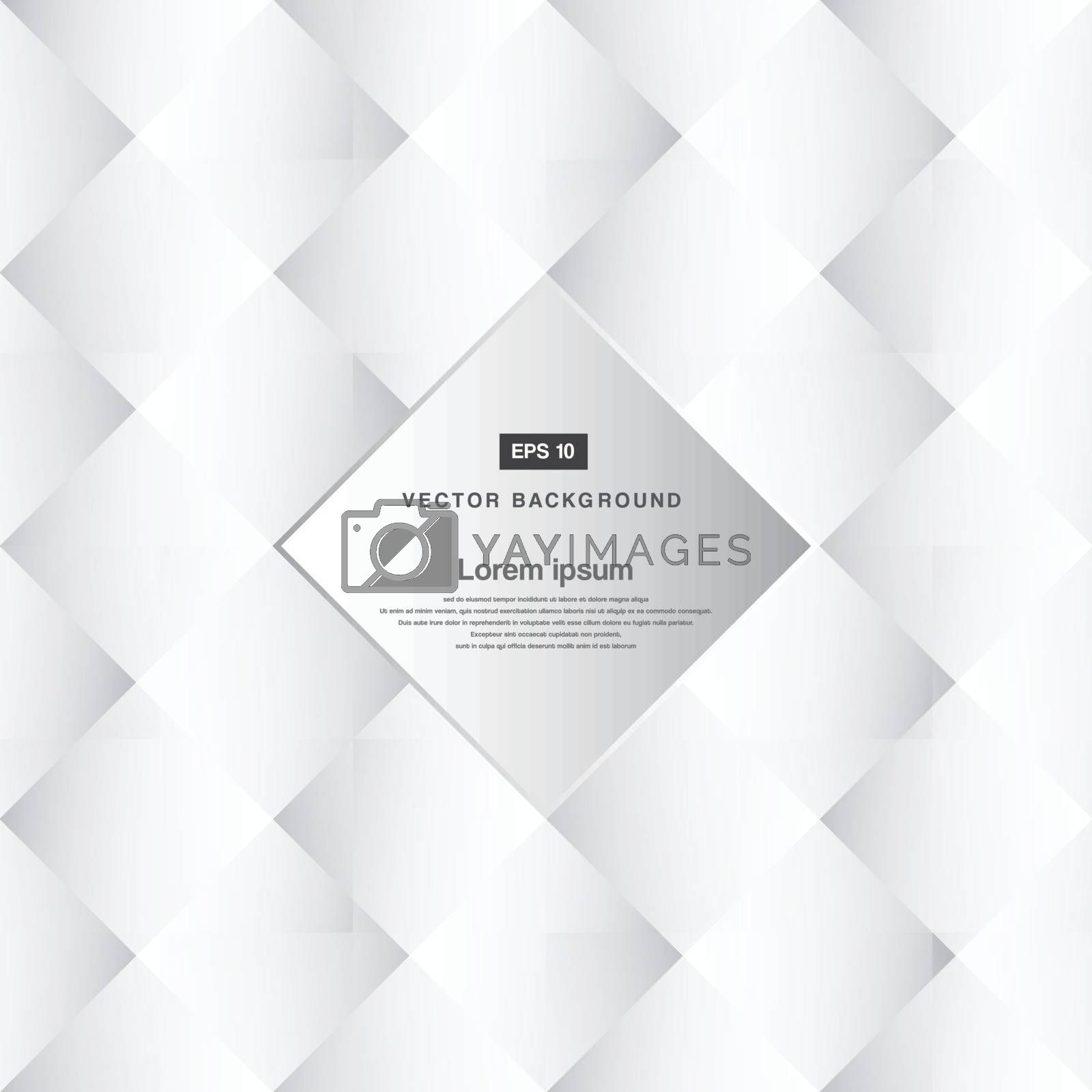 Abstract background black and white squares pattern  copy space vector
