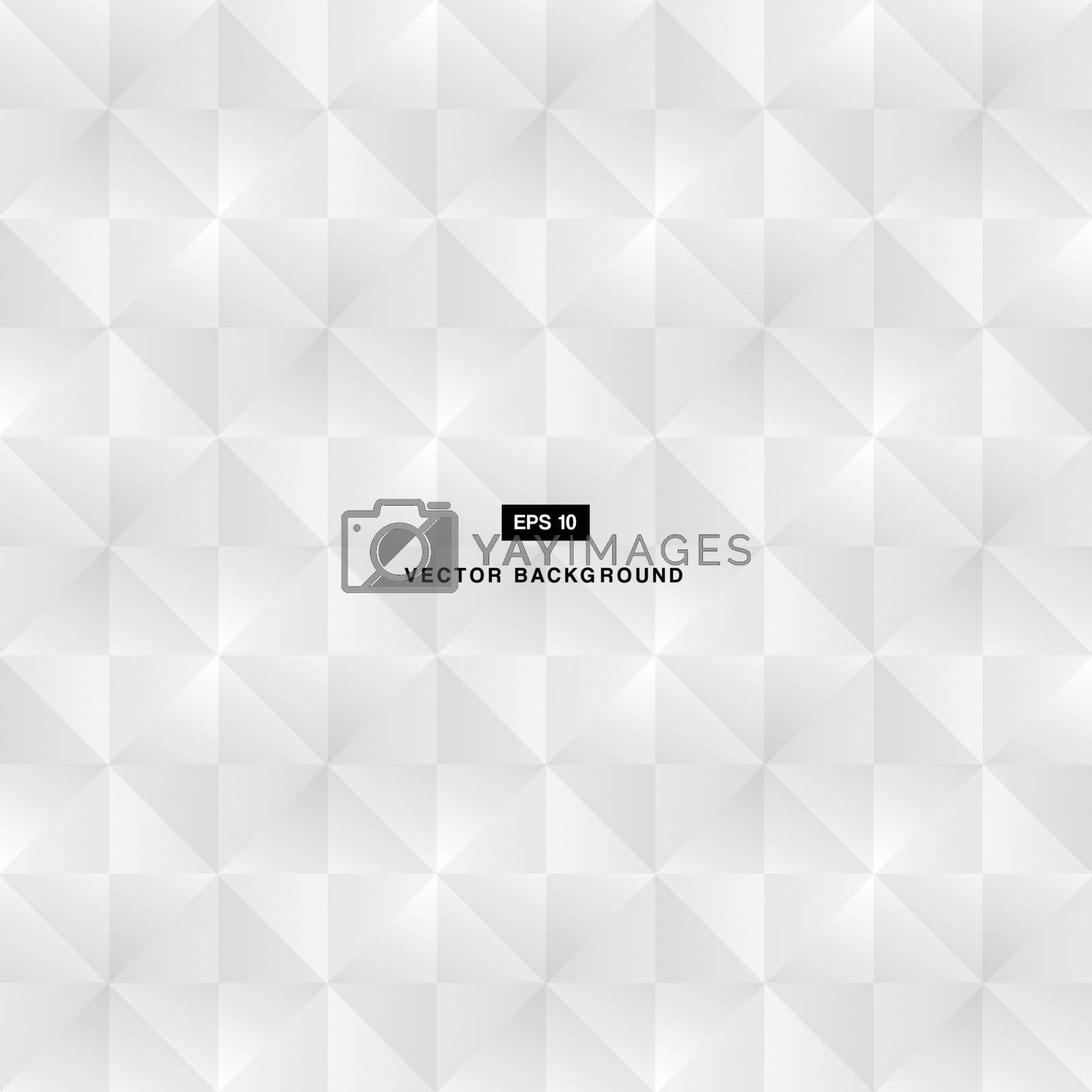 Abstract background modern luxury black and white square pattern vector