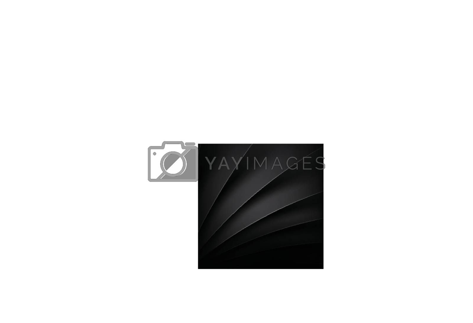 Black modern vector background overlap multi paper lighting for text and message website design vector