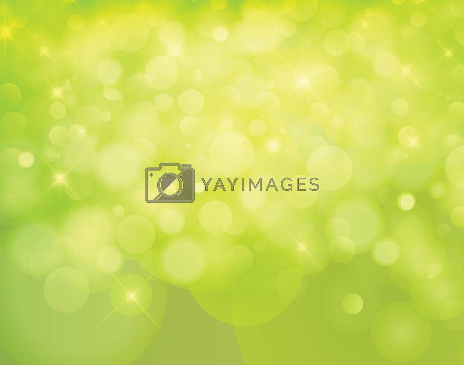 light nature Vector bokeh background made from white lights with sparkling glitter