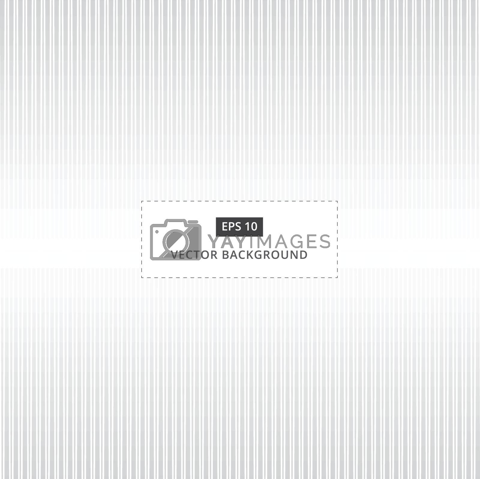Abstract grey and white background of vertical straight lines pattern seamless vector