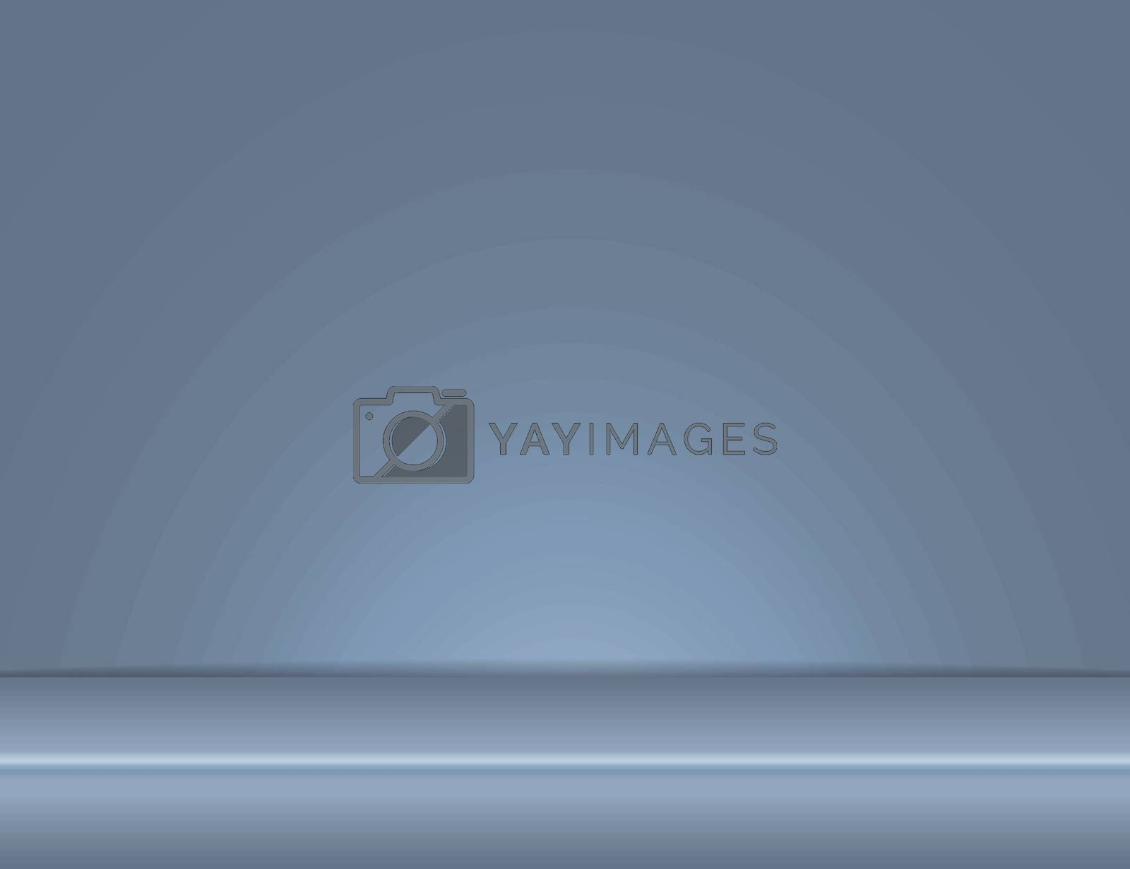 gray blue light rays room studio background for use in various applications and design products vector