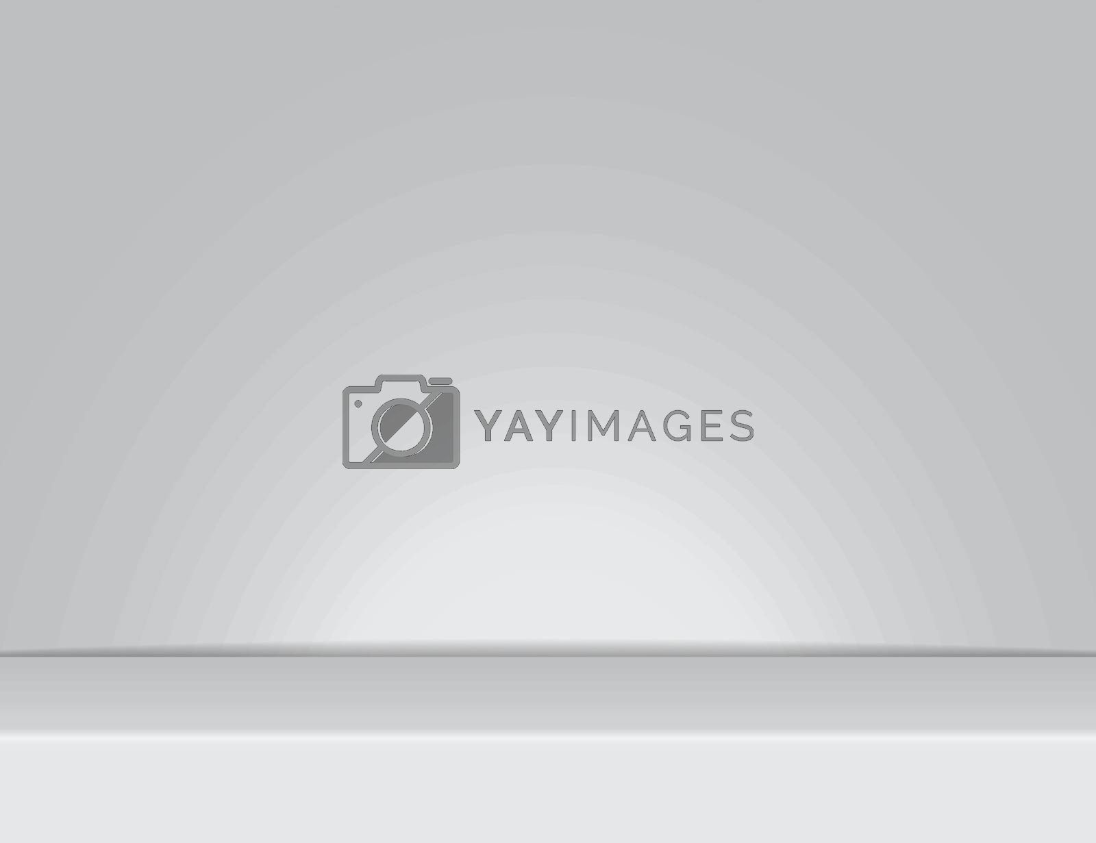 gray light rays room studio background for use in various applications and design products vector