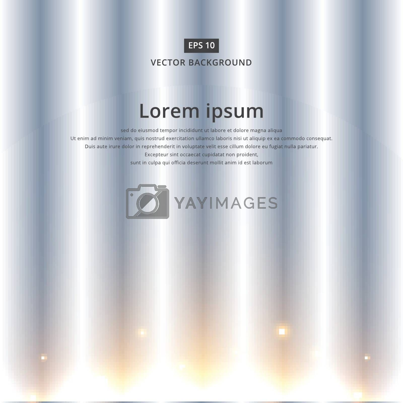 Light from the sun is rising in a straight line background copy space vector