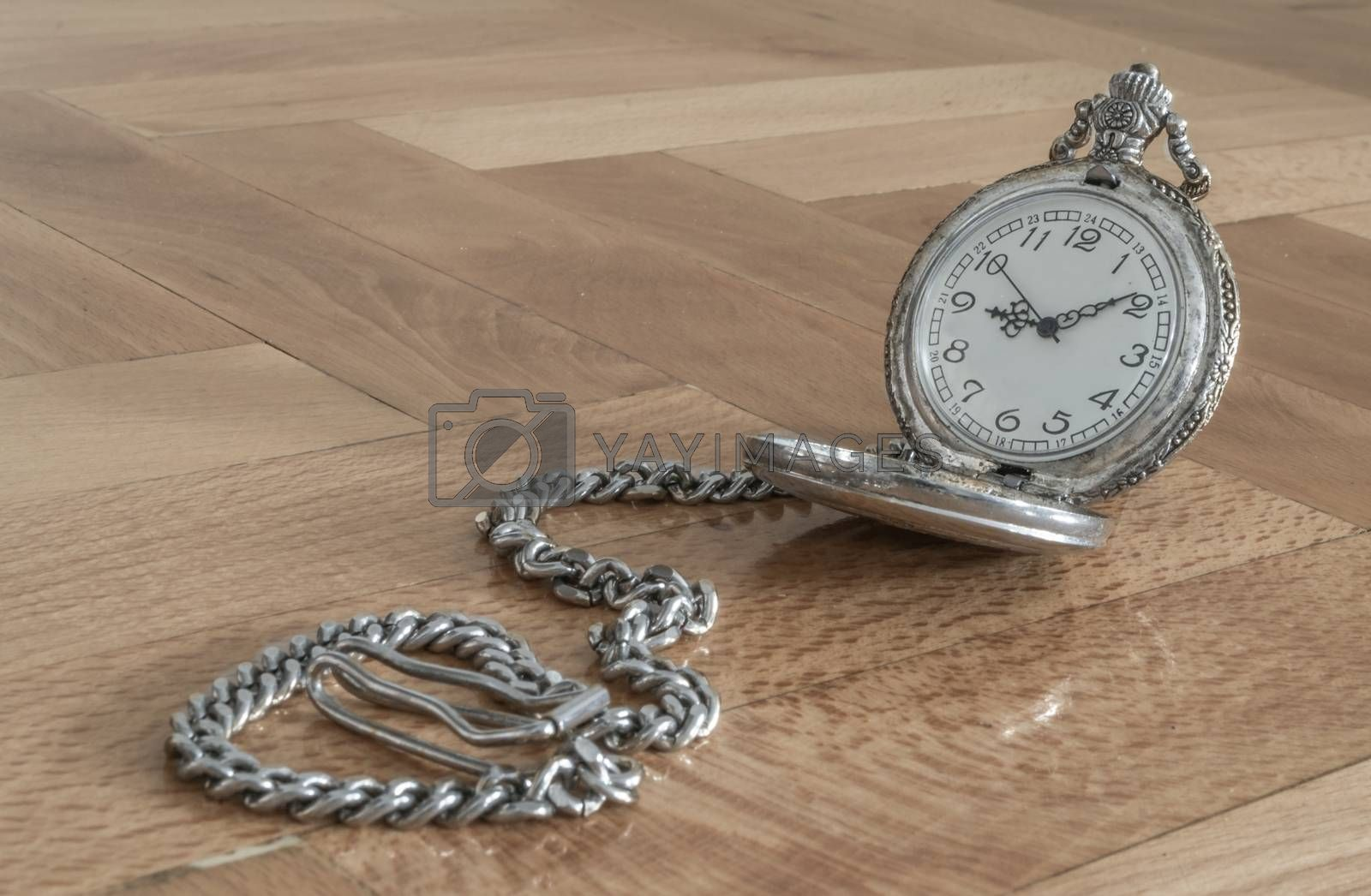 Royalty free image of Pocket watch by viktor.micevski@rocketmail.com