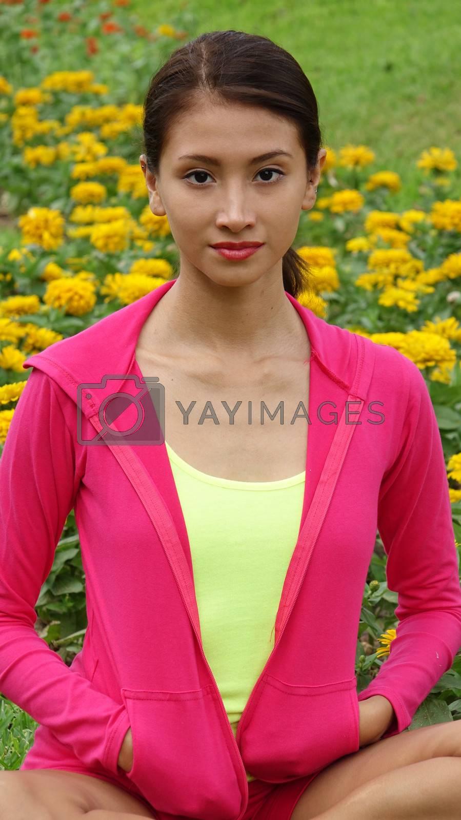 Athletic Peruvian Girl Teenager