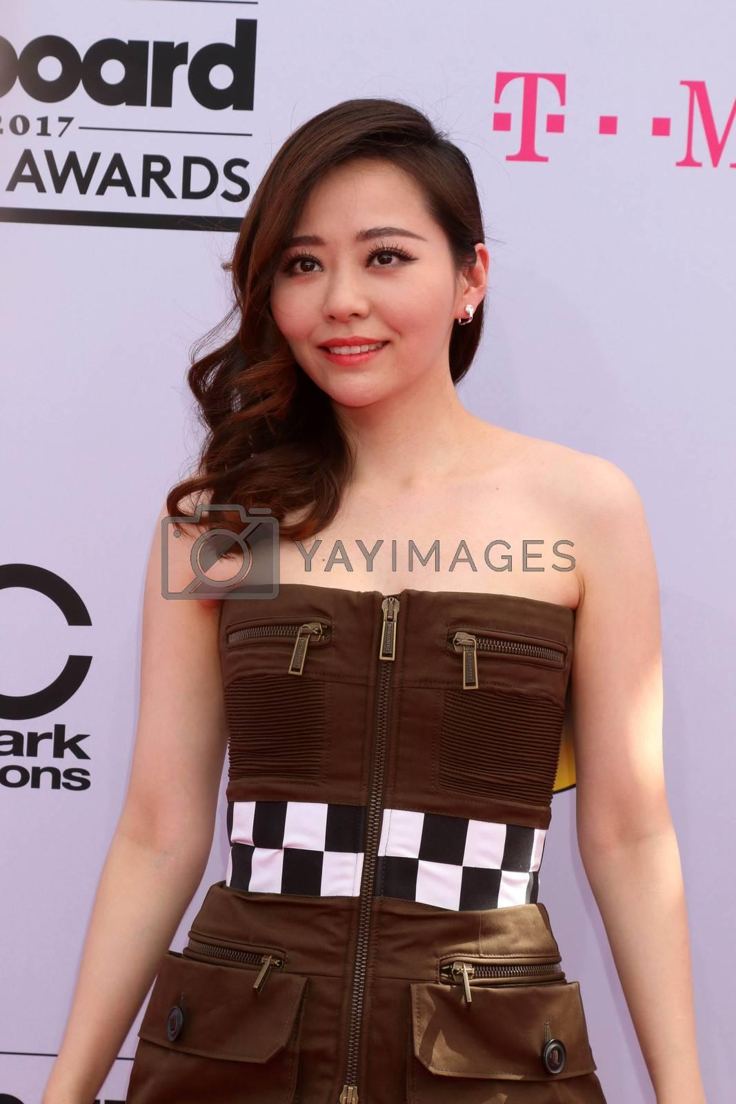 Jane Zhang at the 2017 Billboard Awards Arrivals, T-Mobile Arena, Las Vegas, NV 05-21-17