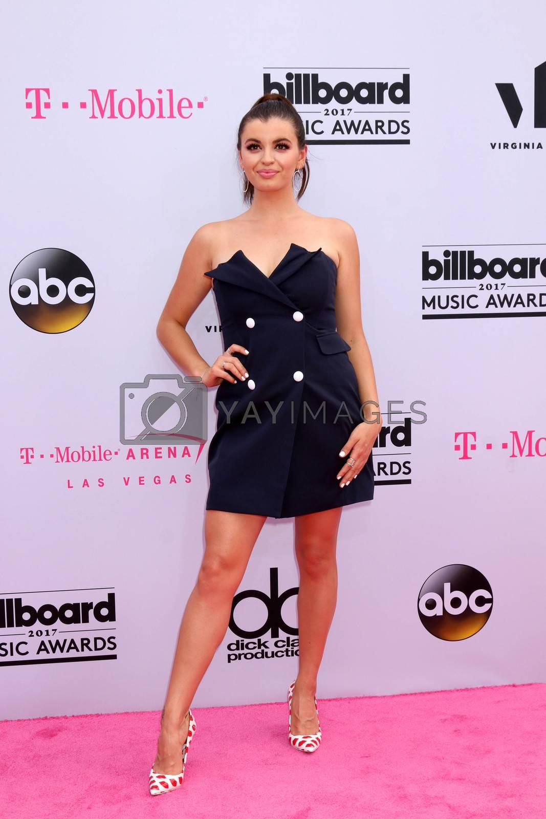 Rebecca Black at the 2017 Billboard Awards Arrivals, T-Mobile Arena, Las Vegas, NV 05-21-17