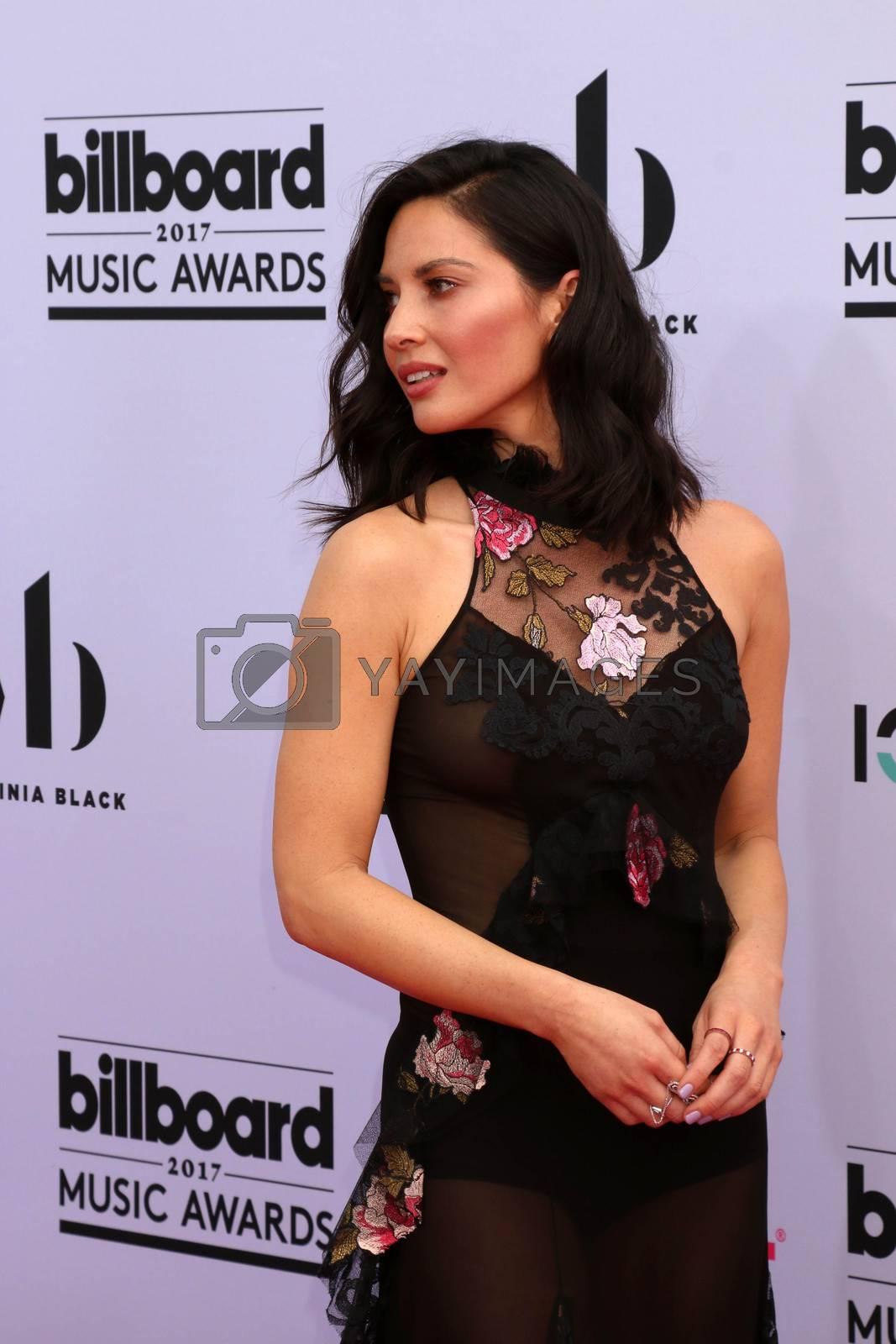 Olivia Munn at the 2017 Billboard Awards Arrivals, T-Mobile Arena, Las Vegas, NV 05-21-17