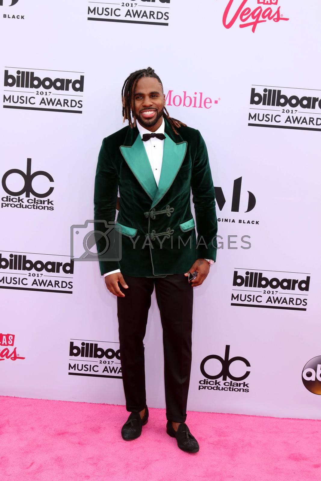 Jason Derulo at the 2017 Billboard Awards Arrivals, T-Mobile Arena, Las Vegas, NV 05-21-17