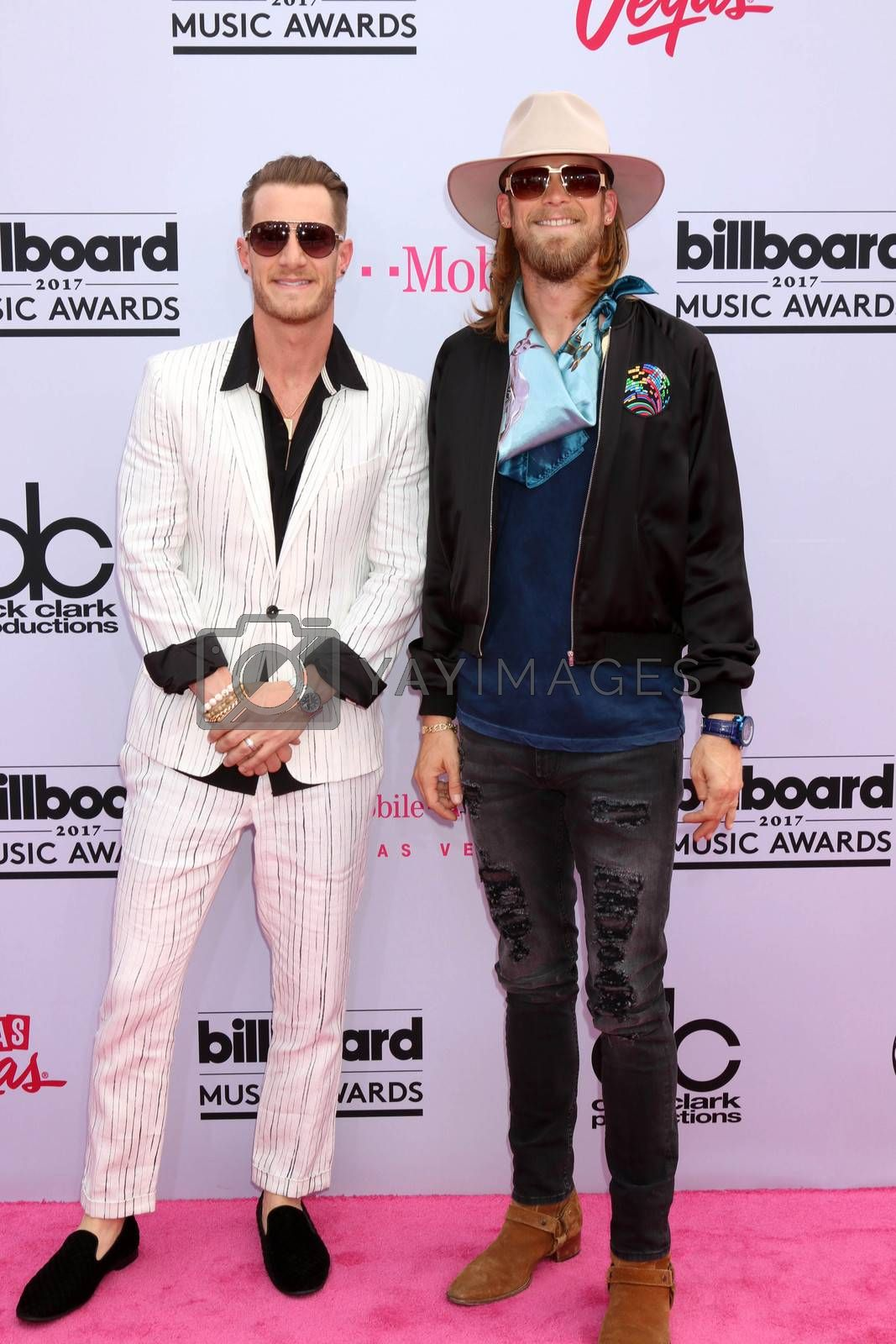 Florida Georgia Line, Tyler Hubbard, Brian Kelley at the 2017 Billboard Awards Arrivals, T-Mobile Arena, Las Vegas, NV 05-21-17