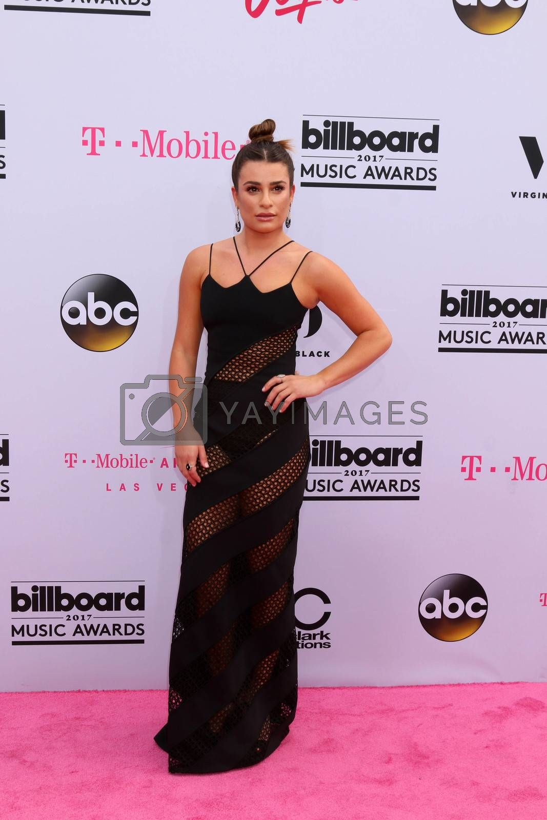 Lea Michele at the 2017 Billboard Awards Arrivals, T-Mobile Arena, Las Vegas, NV 05-21-17
