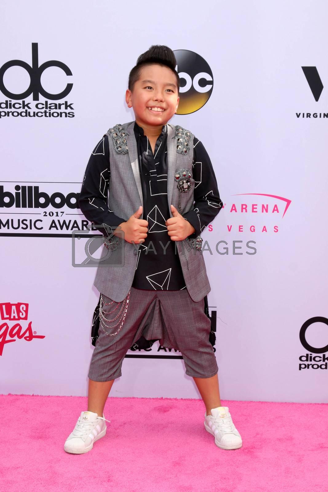 Aidan Prince Xiong at the 2017 Billboard Awards Arrivals, T-Mobile Arena, Las Vegas, NV 05-21-17