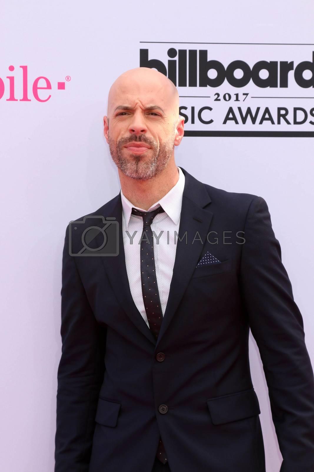Chris Daughtry at the 2017 Billboard Awards Arrivals, T-Mobile Arena, Las Vegas, NV 05-21-17