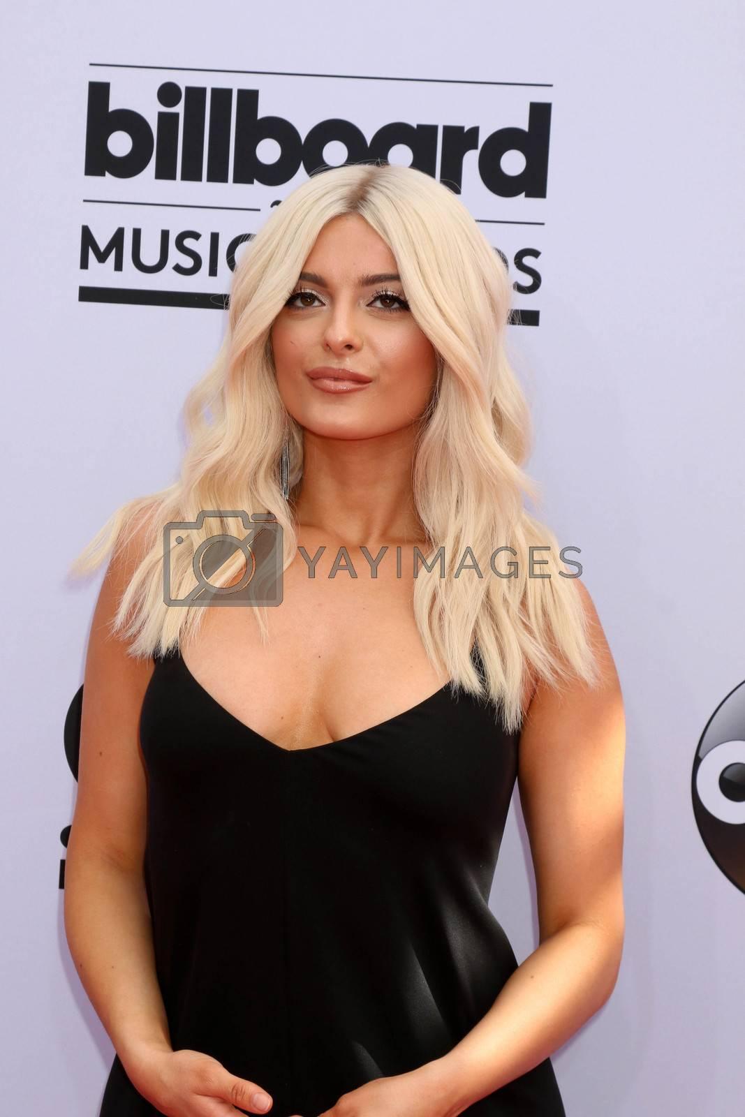 Bebe Rexha at the 2017 Billboard Awards Arrivals, T-Mobile Arena, Las Vegas, NV 05-21-17