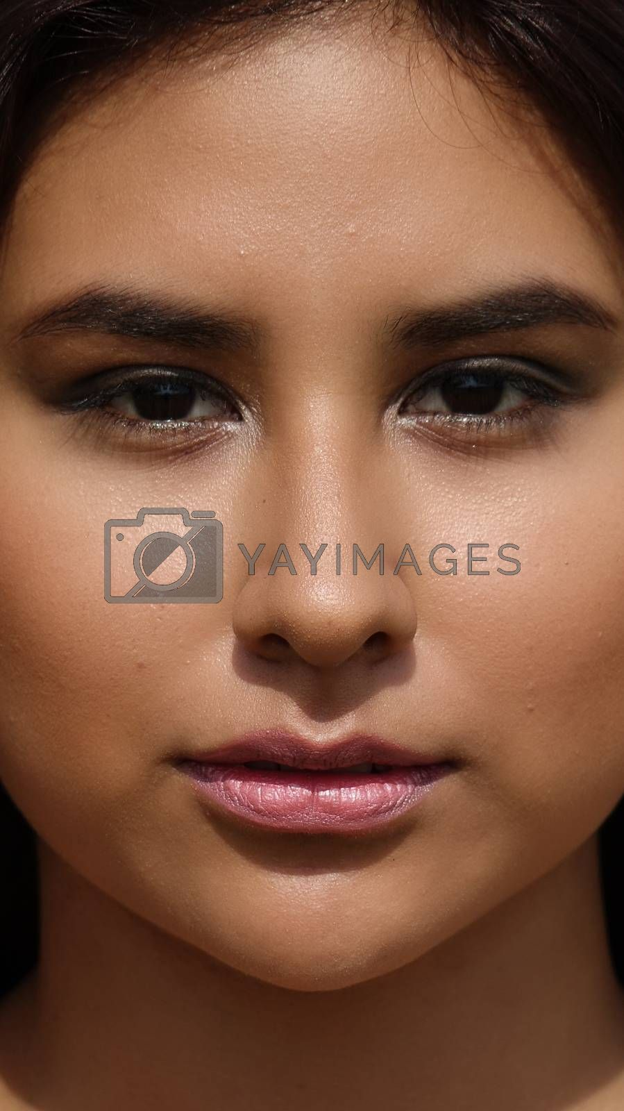 Female Teenager Face