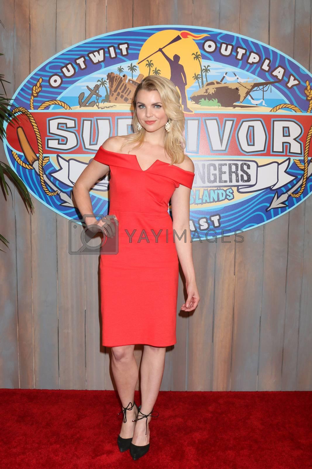 "Andrea Boehlke at the ""Survivor: Game Changers - Mamanuca Islands"" Finale, CBS Studio Center, Studio City, CA 05-24-17"