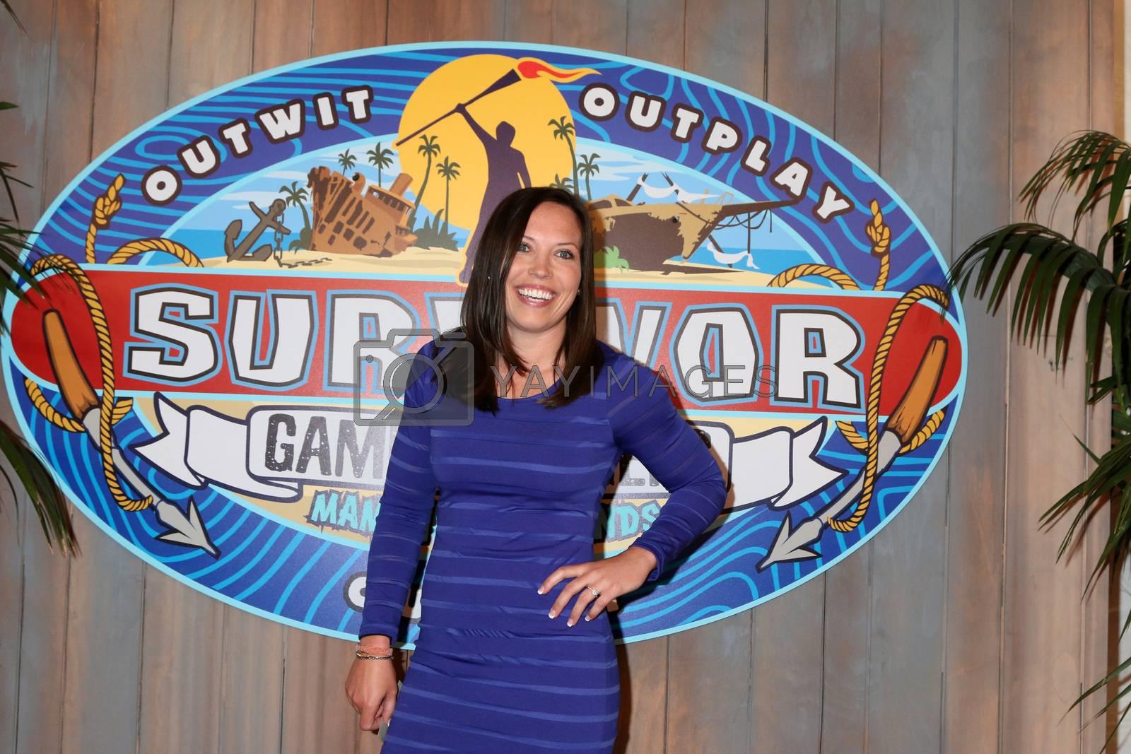"Sarah Lacina, Winner at the ""Survivor: Game Changers - Mamanuca Islands"" Finale, CBS Studio Center, Studio City, CA 05-24-17"